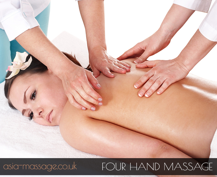 Four Hand Massage, 4 hands massage, four hand massage in london,