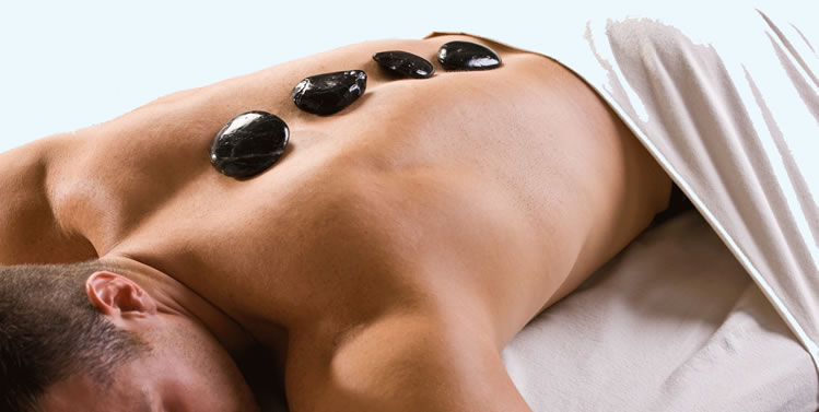 hot stone massage example