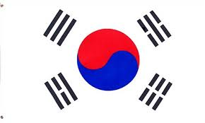 A Korean flag