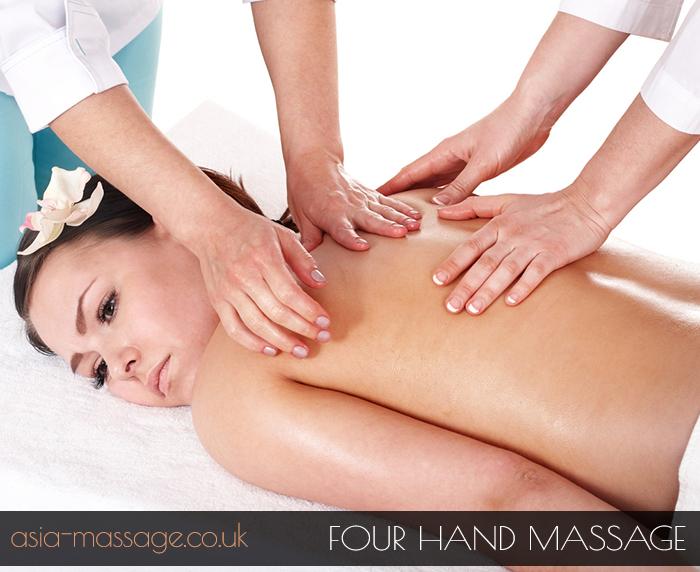 Four Hand Massage, 4 hands massage, four hand massage in london,