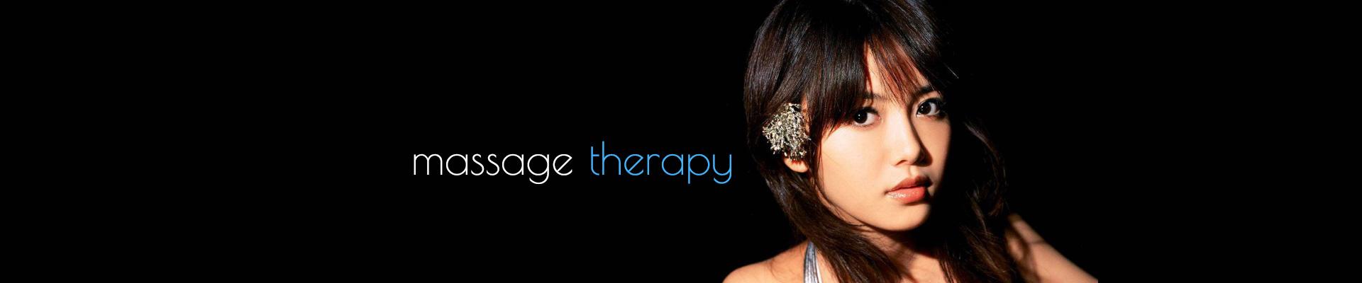 Massage Therapy,