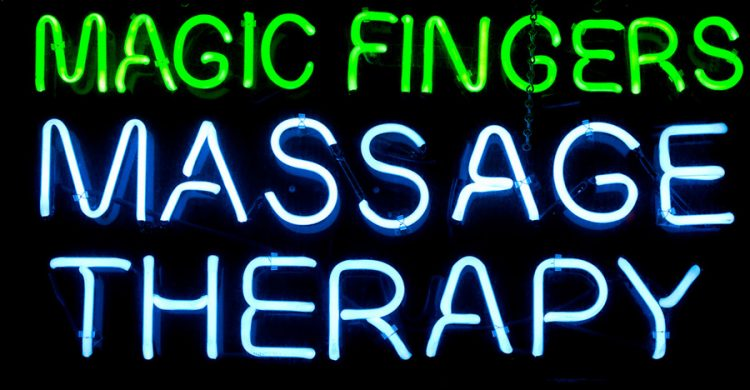 giving a magical body to body massage